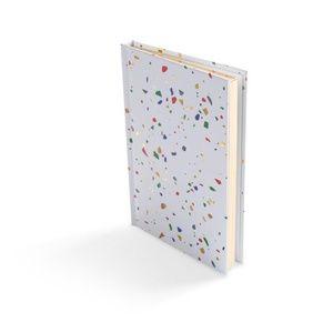 Poketo White Terrazzo Notebook New